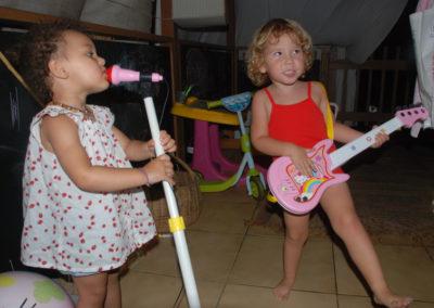 Un futur groupe de rock!