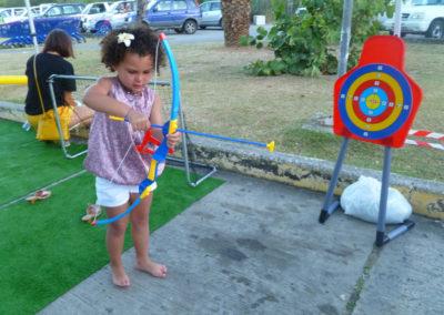 Etape 1, faire tenir la flèche sur l'arc :)